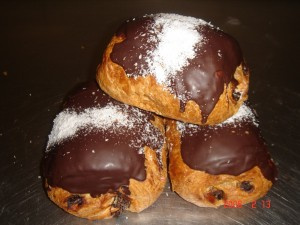 203 Chocolade broodjes