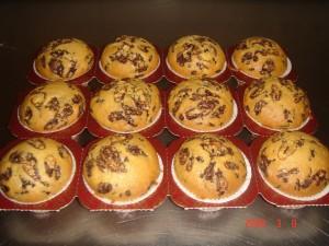 232 Muffins Chocolade